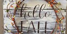 Fall Decor Ideas / Fall decor and DIYs for your home.