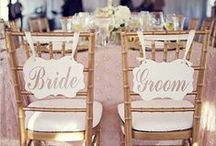 Wedding Details / Tables, chairs, florals, napkins, and more!