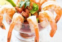 Seafood / Need some dinner inspiration? Find the latest and greatest seafood recipes here. Fish -- Shellfish -- Dinner -- Appetizers  --Salads / by Carries Experimental Kitchen