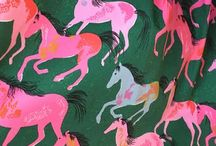 design patterns / illustration, patterns and art with bold color and black + white palettes.