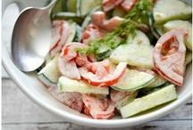 Salads / Whether it be for lunch, dinner or a get together, salads are packed with flavor. / by Carries Experimental Kitchen