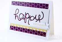 Card Ideas / Mostly Stampin' Up cards / by Jane Mueller