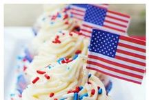 Holidays: Red, White + Blue / Colorful crafts and treats for Memorial Day, Independence Day, Labor Day or any holiday celebrating the red, white and blue! / by Carries Experimental Kitchen