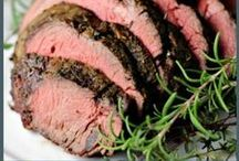 Beef, Pork, Lamb & Veal Recipes / Find your favorite dishes made with beef - pork - lamb - veal or game meats.