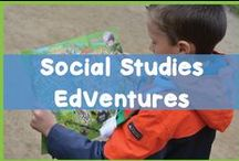 Social Studies EdVentures / You'll find resources to teach social studies in the elementary classroom here. These resources include history, government, mapping and more all chosen with elementary students in mind.