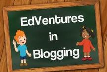 EdVentures in Blogging / Make learning an EdVenture with tips, tricks, lessons, games, websites and more at EdVentures 4 Kids' blog. Join us today.