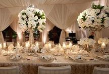 Theme: Wedding White / This is our inspiration for a White Wedding Theme | www.eventrics.com