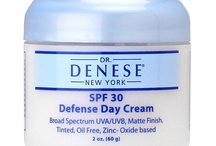 Dr. Denese Sun Protection / The skin-protection phase consists of using SPF 30 sun protection daily in the morning and throughout the day, rain or shine, every day of the year.  Sun exposure is the most common cause of aging and with use of a good protective product, aging from sun damage can be reduced.