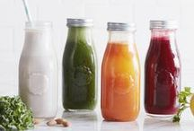 Juices & Smoothies / Make your own juices and smoothies at home. Perfect for breakfast or an afternoon pick me up!