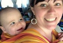 Babywearing / Tutorials for carries I want to try and wraps I may someday purchase