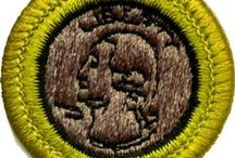 Coin Collecting Merit Badge- BSA / For kids interested in starting a coin collection, as well as the Boy Scouts Coin Collecting Merit Badge. / by Tina Kugler
