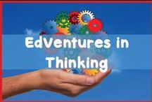 EdVentures in Thinking / Resources found on this board are chosen to encourage higher level thinking skills in elementary classes. The work is challenging but the students love the outcomes.