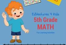 Fun 5th Grade Math / 5th grade math products, websites and ideas...  This is a friendly reminder, pins on this board are for 5th grade math. Please pin products accordingly.