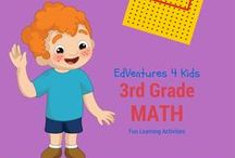 Fun 3rd Grade Math / This is a group board for paid and free activities, products, ideas, websites and more that can be used to teach 3rd grade math.
