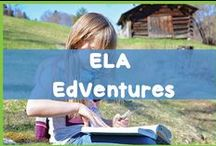 ELA EdVentures / You'll find reading, writing, spelling and word work resources for the elementary classroom here.
