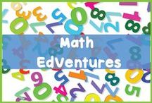EdVentures in Math for 2nd - 4th Grade / On this board we will share activities, ideas, blogs, products, websites, videos and more to encourage and develop math understanding for 2nd - 4th graders.