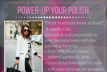 WORK STYLE / Tips to keep on top of your image at work. Need an online stylist? MyPrivateStylist.com is your answer.