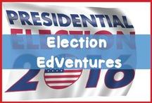 Election Resources for Kids / Looking for ways to help your kids understand the elections? You'll find tons of resources here to help your kids understand the 2016 presidential elections. There are resources to help students understand vocabulary terms, political parties, the issues, the candidates and more...   We've checked the resources to make sure everything is in kid friendly terms.   Check out the resources and get your kids into the 2016 presidential election today.