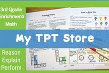 My TpT Board / Teaching resources for the elementary grades created by EdVentures 4 Kids for sell on Teachers Pay Teachers.  Math Resources, Social Studies Resources, ELA Resources