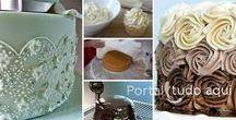 Bolos de aniversário e festas / Dicas, receitas, e tudo para um bolo de aniversário ou festa perfeito!