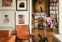 living rooms / if it's eclectic, if it's well lit, if it's well worn- its gotta be home.
