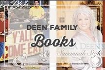 Deen Family Books / Cookbooks and books by Paula Deen, Jamie and Bobby Deen, Michael Groover, and Uncle Bubba. / by Paula Deen