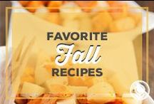 Favorite Fall Recipes / by Paula Deen