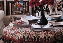 Decorating with textiles / by Brillante Interiors