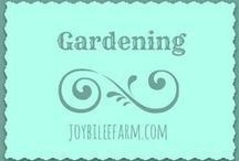 Gardening / by Joybilee Farm