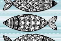 ...doodling & zentangles / by Loreen Moore