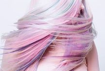 Creative Color / The days of blonde, brunette or ginger are long since gone. We love to walk on the wild side from bold, bright locks to subtle pastel tints.   Learn the art of Cosmetology at Clary Sage College, www.clarysagecollege.com / by Clary Sage College