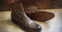 Bykowski Tailor & Garb Footwear / Handcrafted with Goodyear Welt, Full Grain Leather, Leather Soles, Steel Arch Shank, Stacked Heel, and Calf Skin Lined.