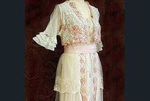 Amazing Antique gowns, shoes, costumes