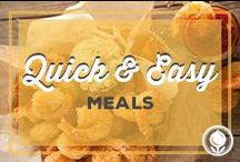 Quick and Easy Meals / by Paula Deen