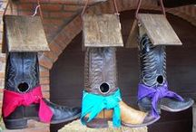 Uses for COWBOY BOOTS / by Diane Vincent
