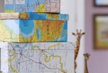 """Map """"Quest"""" / by Diane Vincent"""