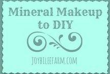 Mineral Makeup to DIY