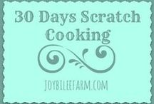 Scratch Cooking for beginners / Scratch cooking for everyone