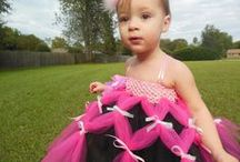 Tutus That I Have Made So Far / These are so much fun to make and dress Eva up in!! / by Elizabeth McCullar