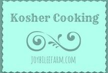 Kosher cooking from scratch