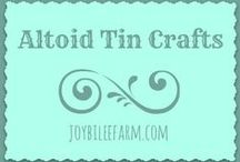 Altoid tin crafts / Hacks and crafts made from Altoid tins.