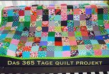 Quilt / In 365 Tagen entsteht ein Quilt