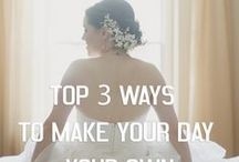 Wedding Tips. / A collection of our wedding tips.