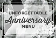 Unforgettable Anniversary Menu / Sharing a romantic dinner is the perfect way to spend an anniversary evening with your loved one. All it takes is a little planning and some excellent recipes to make restaurant quality food at your own stove.  / by Paula Deen