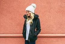 Cozy Winter Outfits || Called to Surf / Cold weather calls for coats, beanies, cute tops, and hot chocolate. :)
