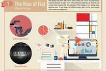 Infographics / A collection of fun Infographics related to the design industry!