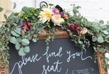 Seating Charts. / Seating Chart ideas for weddings and parties.