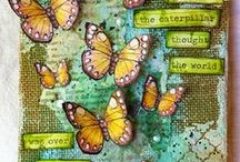 canvases & mixed media