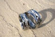 Titanium Wedding Rings / Titanium wedding rings, titanium engagement rings #titaniumrings #titaniumweddingrings #titaniumengagementrings #titaniumweddingbands