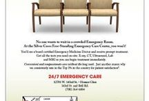 Get Treated. Not Seated. 24/7 Emergency Care / Silver Cross 24/7 Emergency Care Center.  Convenient and compassionate care without the long wait.
